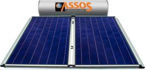 Επιλεκτικού ΣυλλεκτηAssosSP 300E Glass Επιλεκτικός Τιτανίου Τριπλής Ενέργειας για Αντλία Θερμότητας