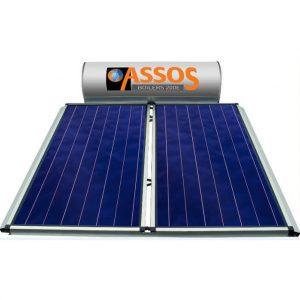 Επιλεκτικού ΣυλλεκτηAssosSP 200E Glass Επιλεκτικός Τιτανίου Τριπλής Ενέργειας για Αντλία Θερμότητας