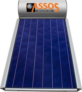 Επιλεκτικού ΣυλλεκτηAssosSP 200 Glass Επιλεκτικός Τιτανίου Τριπλής Ενέργειας για Αντλία Θερμότητας