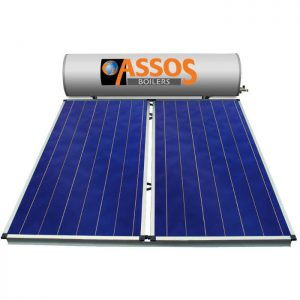 Επιλεκτικού ΣυλλεκτηAssosSP 300 Glass Επιλεκτικός Τιτανίου Τριπλής Ενέργειας για Αντλία Θερμότητας