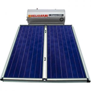 Επιλεκτικού ΣυλλεκτηHelioakmiMegasun 200E Inox Επιλεκτικός Τιτανίου Τριπλής Ενέργειας