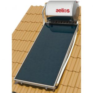 Επιλεκτικού ΣυλλεκτηNobelAelios 120lt/1.5m² Glass ALS Επιλεκτικός Τριπλής Ενέργειας Κεραμοσκεπής