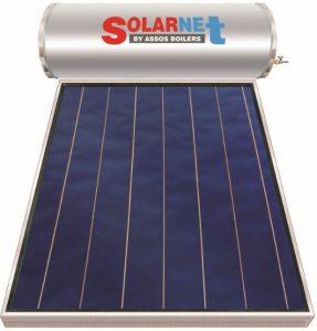 Επιλεκτικού ΣυλλεκτηSolarnetSOL 160M Glass Επιλεκτικός Τιτανίου Διπλής Ενέργειας
